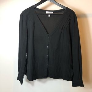 & Other Stories Black Long sleeve shirt 4